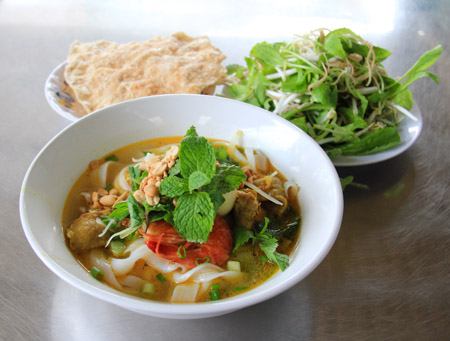 Mi Quang or Quang Style Noodles