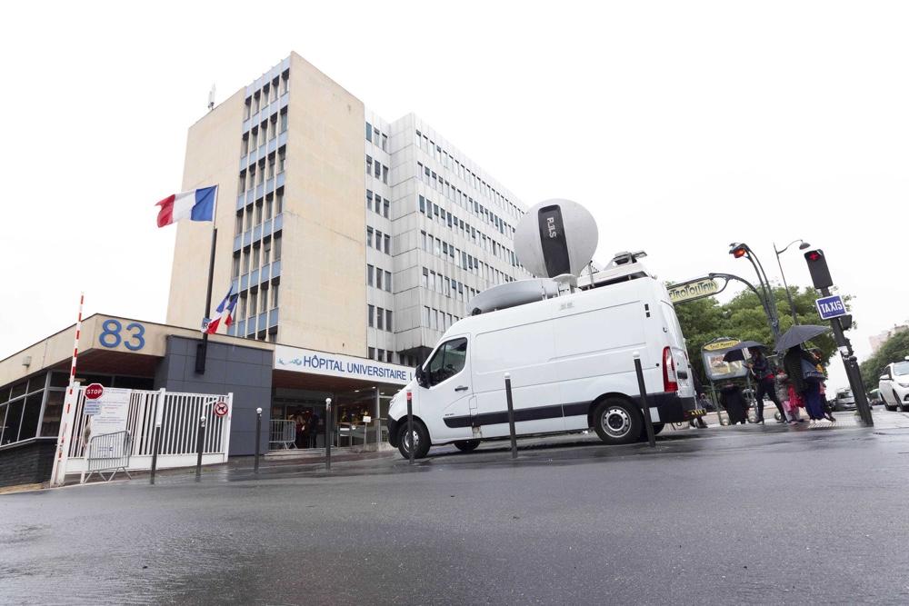 NEWS : Hopital de la Pitie Salpetriere a Paris - 02/05/2019