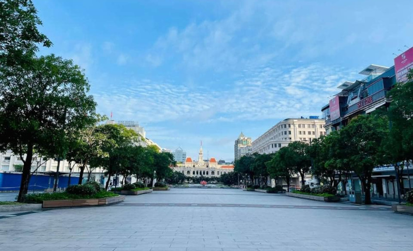 Ho Chi Minh City in Lockdown : an empty city