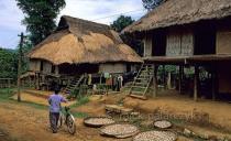 White Thai village in Mai Chau