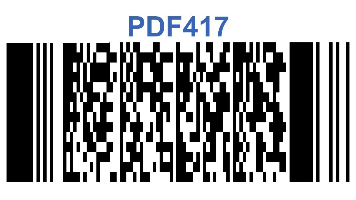 Mã vạch PDF417