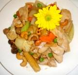 Chicken cashew nut