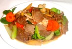 Combination steam duck with vegetable