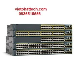 Switch chia mạng CISCO WS-C2960-24TC-L 2