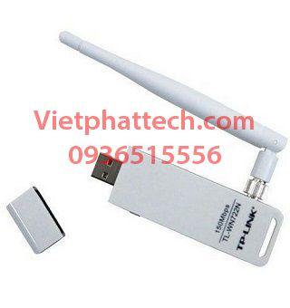 Cạc mạng chuẩn USB TP-Link TL-WN722N 3