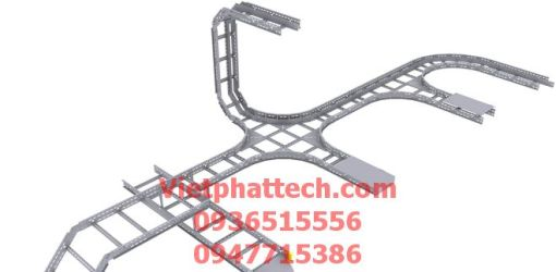 Thang cáp (cable ladder) 300x100 3