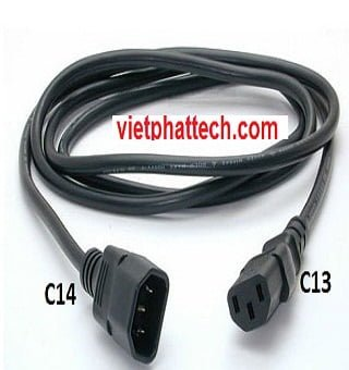 Dây nguồn power cord Cable C13 C14