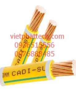 Cáp đồng đơn bọc cách điện PVC CADI-SUN 6