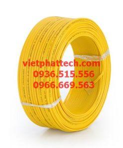 dây điện đơn màu vàng