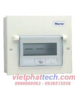 Tủ điện nano vỏ kim loại lắp 6 module