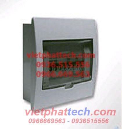 Tủ điện âm tường Sino lắp 3 đến 6 át