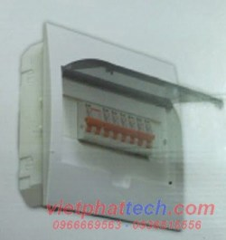 Tủ điện âm tường Sino lắp 4 đến 8 át