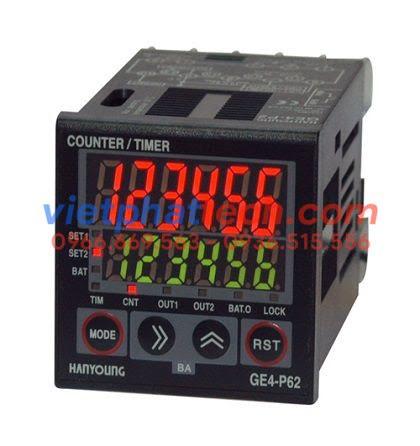 Bộ đếm (timer/counter) Hanyoung GE4-P62, P41, P61, P42
