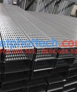 Sản xuất thang máng cáp tráng kẽm điện phân số 1 14