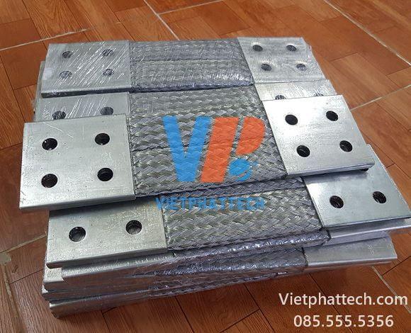 Thanh nối đồng bện 350x100x10mm cho máy bến áp 40