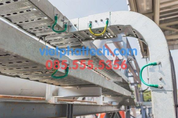 Các loại Tiếp địa thang máng cáp tủ bảng điện thường dùng 4
