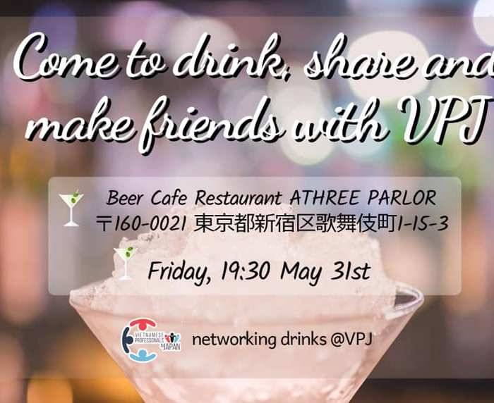 Networking Drinks 05/2019: Drink, share & make friends