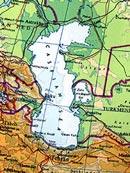 Biển Caspian - hồ lớn nhất thế giới.