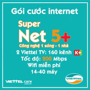 Goi cuoc internet Super Net 5