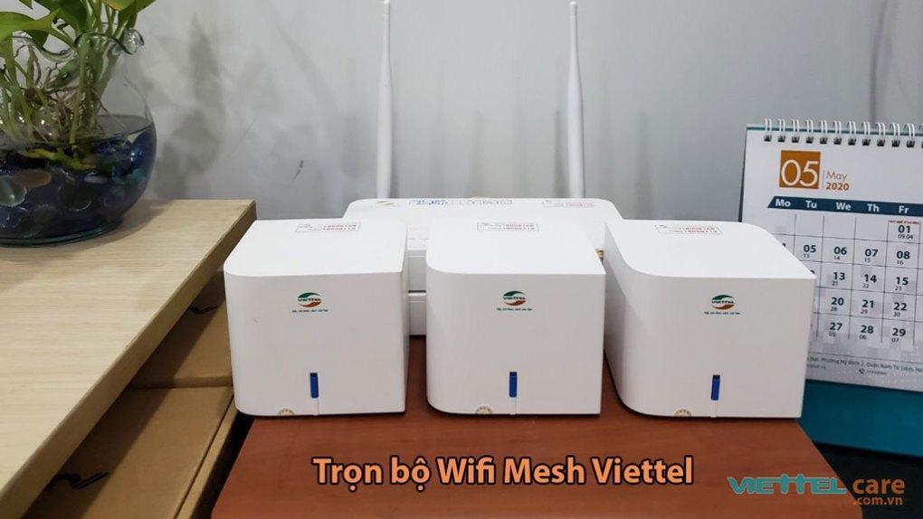 Tron bo wifi mesh viettel