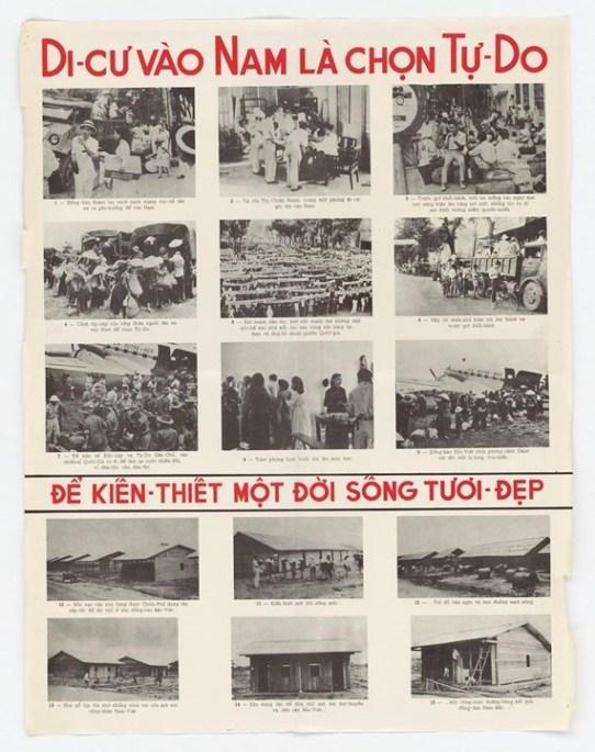 """Tạp chí National Geographic gọi cuộc di cư vào Miền Nam 1954 là """"một vụ di dân mang tính lịch sử.""""  Stanley Karnow, gọi đây là """"một phong trào tị nạn khổng lồ từ Bắc vào Nam"""