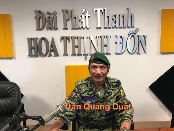 Mũ Xanh Trần Quang Duật