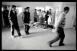 Scènes de conflits au Kosovo