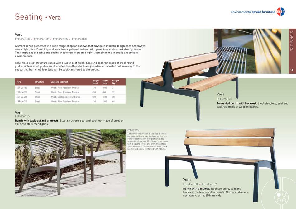 environmental street furniture world