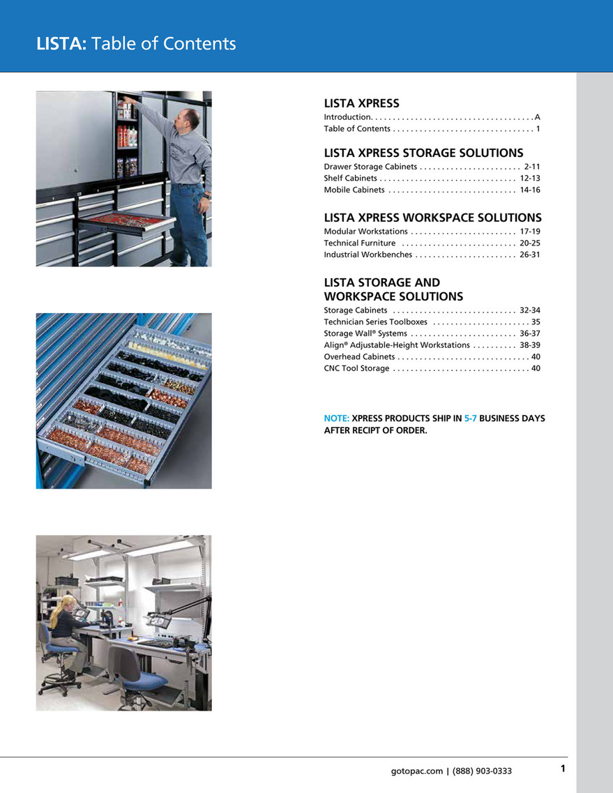 My Publications Lista Xpress Catalog Page 4 5