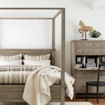 Pottery Barn Pbm Fall 2020 D1 Farmhouse Canopy Bed King Gray Wash