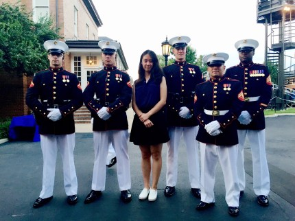 Crystal with servicemen