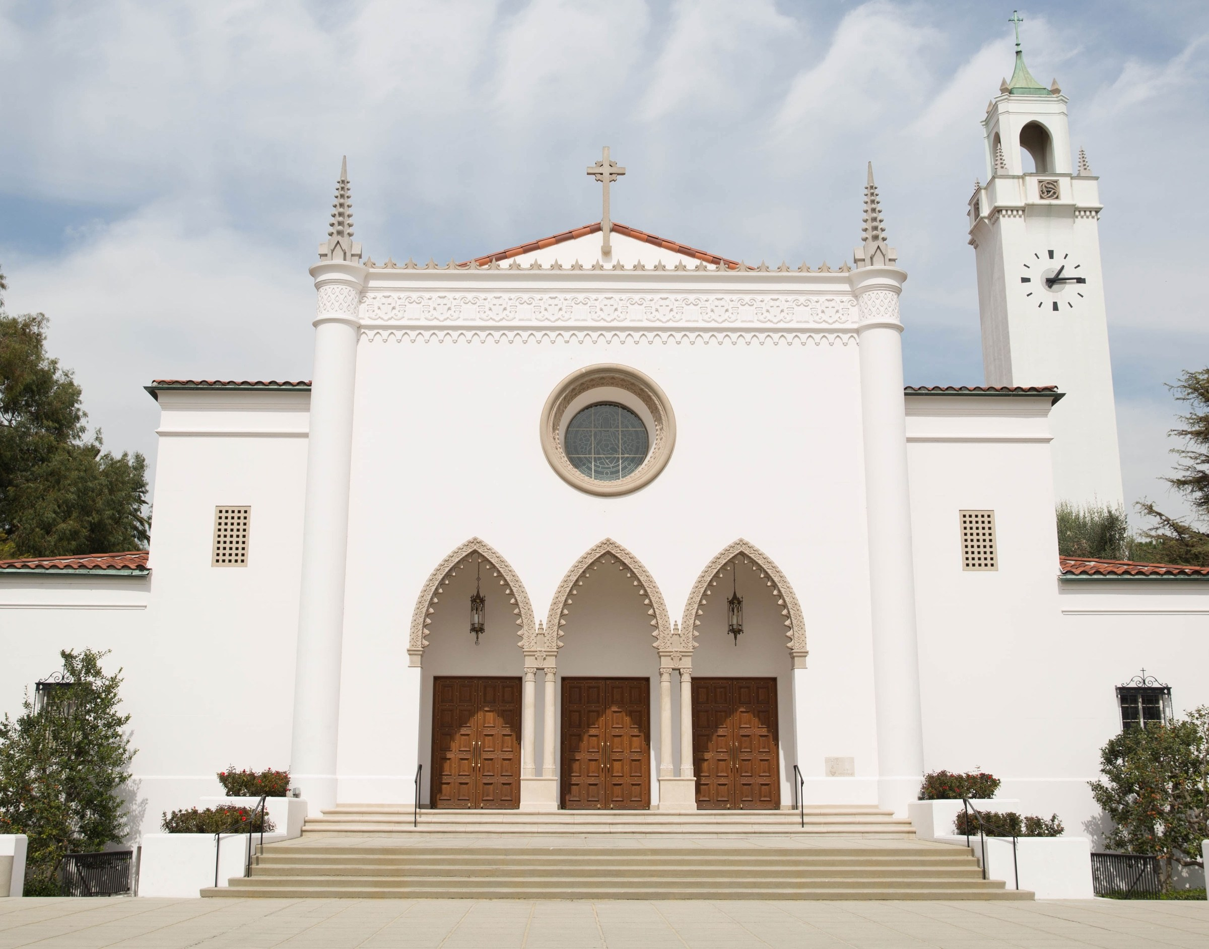 Chapel from the front