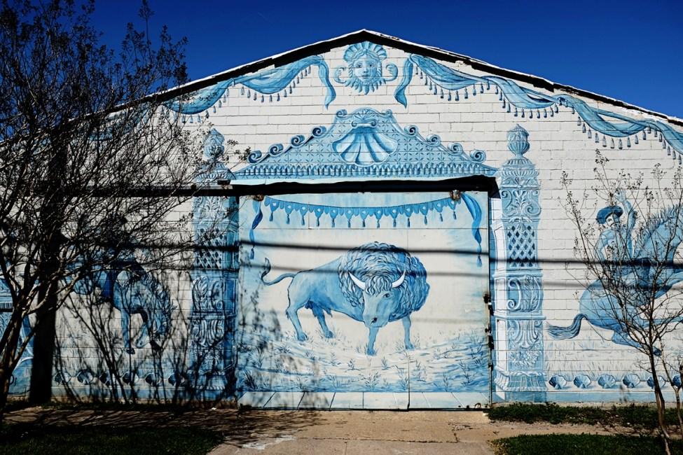 Longhorn street art 72px