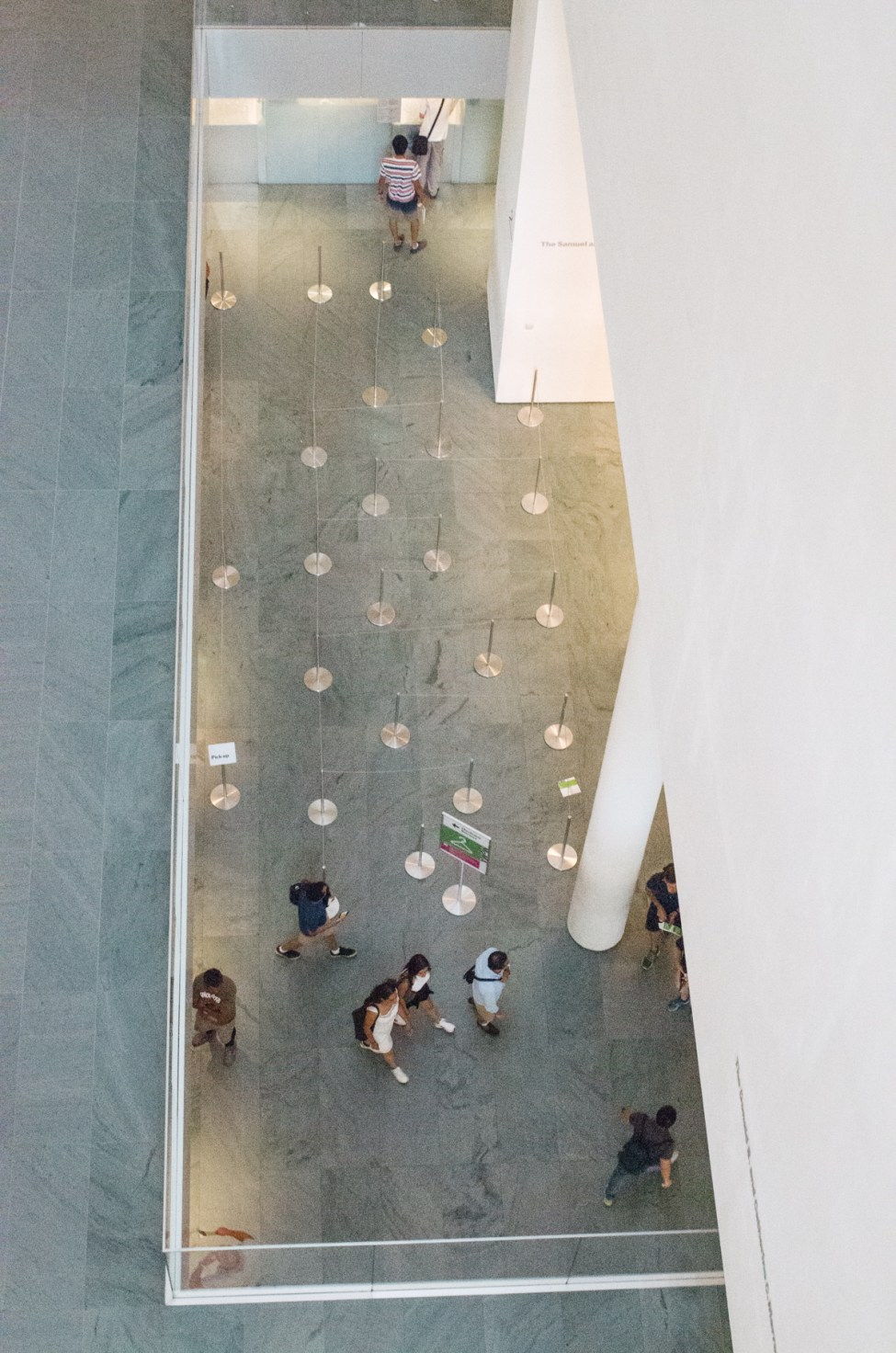 View inside MoMA