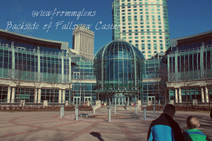 Backside of Fallsview Casino #126