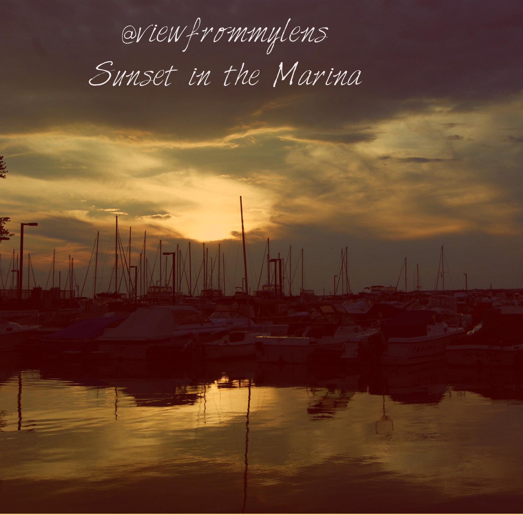 Sunset in the Marina #187