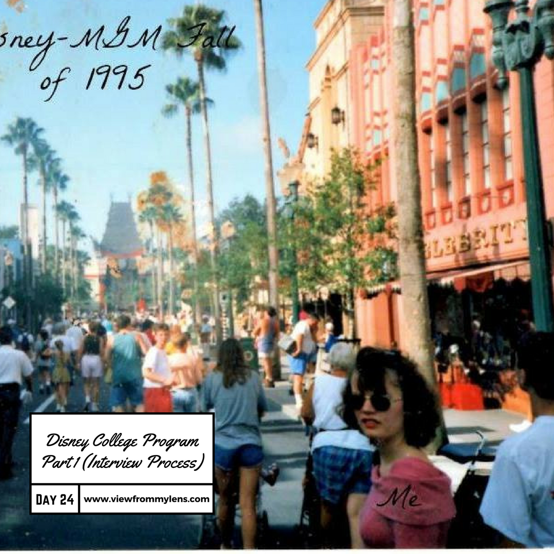What is the Disney College Program?  (The Interview) Part 1 #Write 31