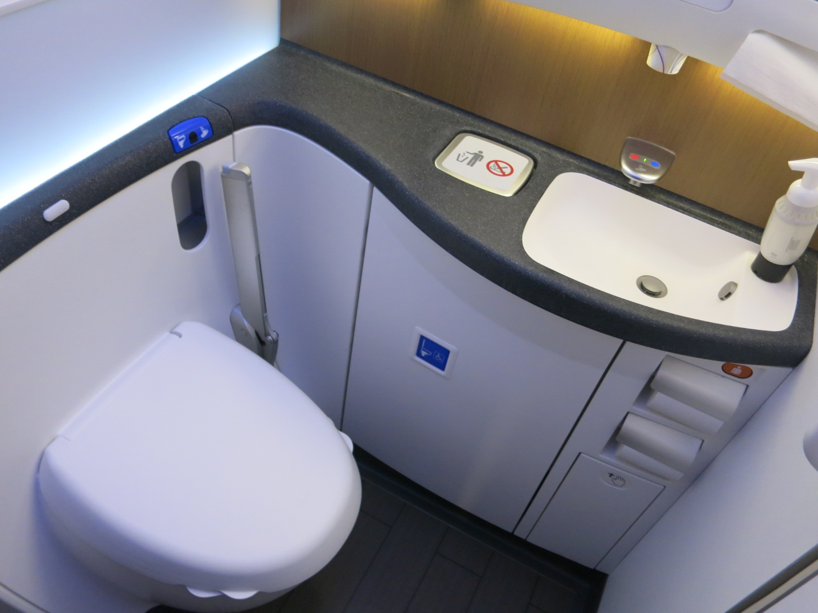 How To Fix A Stinky Airplane Lavatory View From The Wing