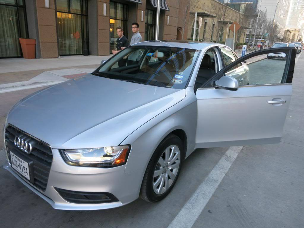 $100 Off 2-Day Silvercar Audi Car Rental - View from the Wing