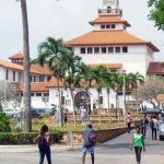 outside Ghana University