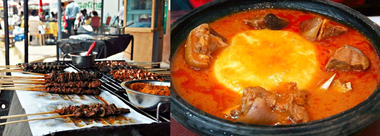 take a savoury tour of ghana foods to experience to try