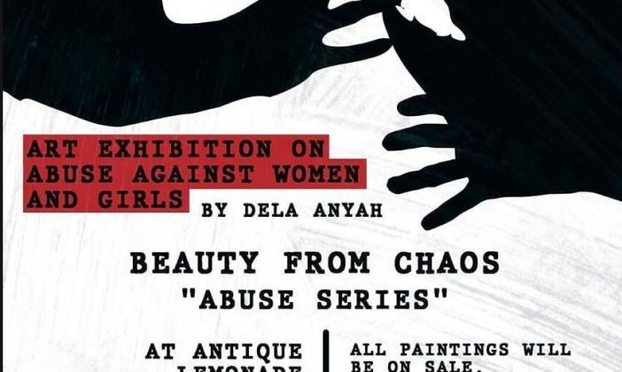 Beauty from Choas Art Exhibition by Dela Anyah