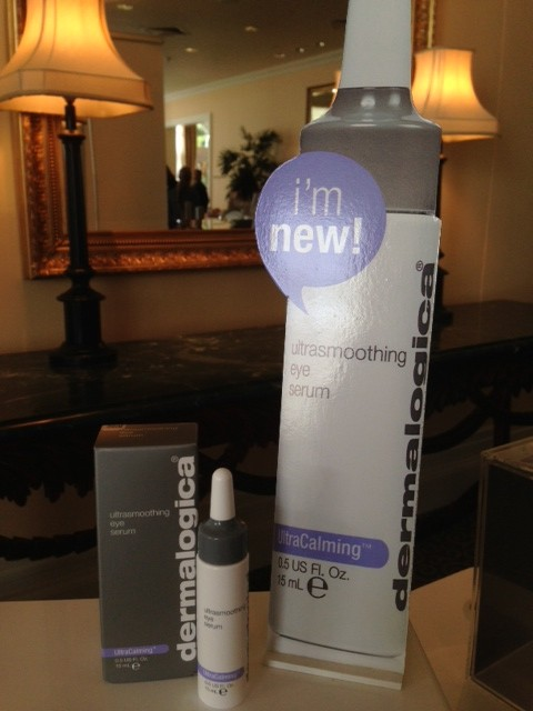 I am new!  UltraSmoothing Eye Serum launch