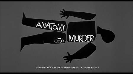 Saul Bass | Anatomy of a Murder (1959)