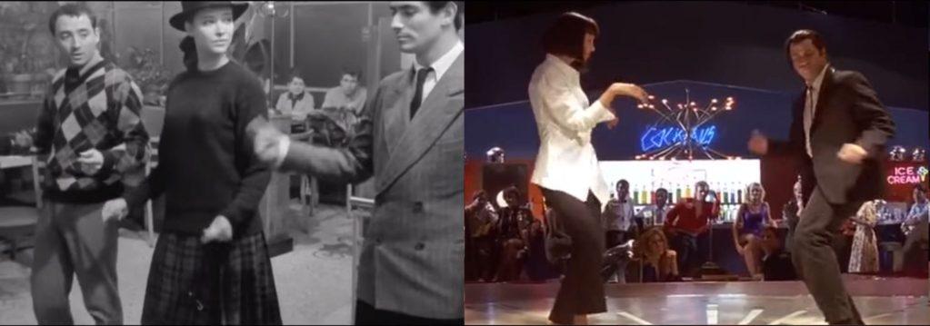 Bande à part (1964) / Pulp Fiction (1994)