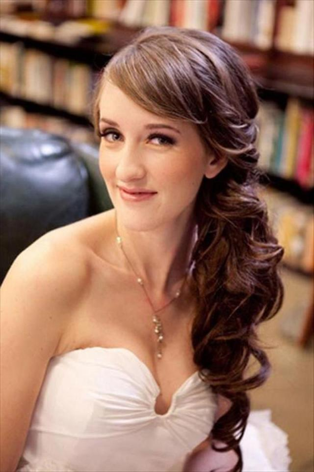 the best wedding hairstyles with bangs - viewkick