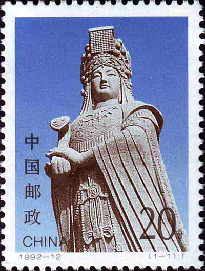 Mazu - Celestial Princess: a 14m tall sculpture in her birthplace Putian, Fujian Province
