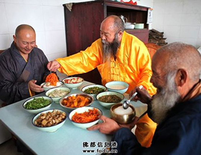Monk Puguang from Mt Zhongnan