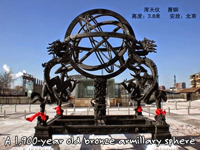 Ancient Chinese armillary sphere