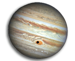 Jupiter's third satellite Ganymede